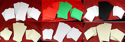 Cards and Envelopes Many Sizes and Colours