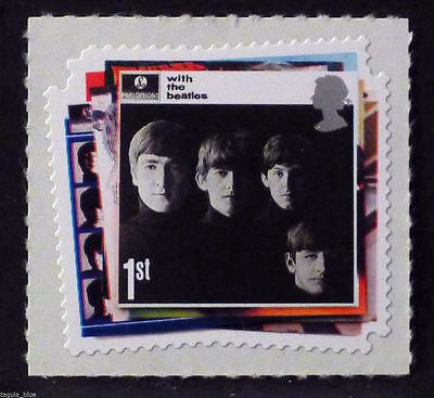 Beatles 'with The Beatles' 1St Class Stamp 2007 - New U/m