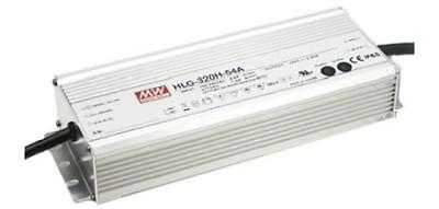 Mean Well HLG-320H-30B, Constant Voltage Dimmable LED Driver 321W 30V 10.7A