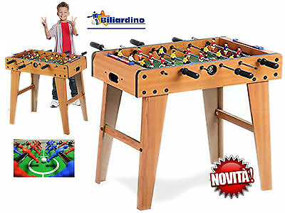 Foosball Wood Table Football Game Novelty Height 68 Cm