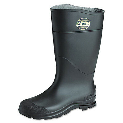 Servus By Honeywell 18821 Black PVC Steel Toe Boots Size 3-15 *Free US Shipping*