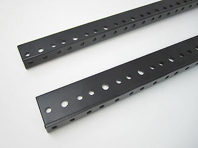 24 SPACE 24U Rack Rail (42 inches) (PAIR) for RACK-MOUNT EQUIPMENT by Penn Elcom