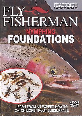 Fly Fisherman Nymphing Foundations featuring Lance Egan - Trout DVD