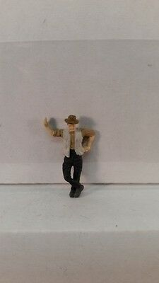 Arttista S Scale Figure 743 - Man Leaning - People - Model Trains - New
