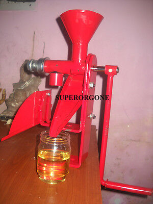 Manual Nut & Seed Oil Expeller Oil Press Machine High Quality Cold Press