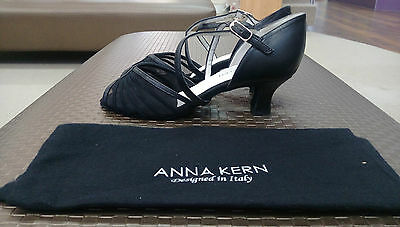 Anna Kern Suede Black Women's Ballroom Shoes size 4.5 UK