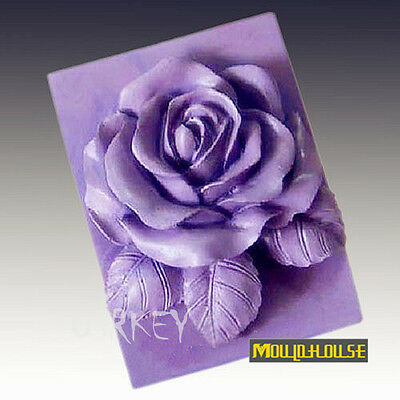 Roses S358 Silicone Soap mold Craft Molds DIY Handmade soap mould