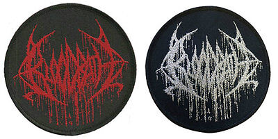 Bloodbath Sew On Patches NEW OFFICIAL. Choice od 2 designs. Logo or Silver Logo