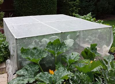 1.2m High Garden Vegetable Fruit Cage Frame Crop Protection Aluminium Many Sizes