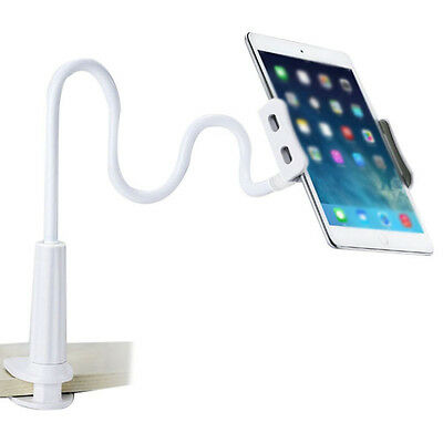 360º Lazy Bed Desk Mount Stand Holder For iPad 2 3 4 Air Samsung Tablet Pc White