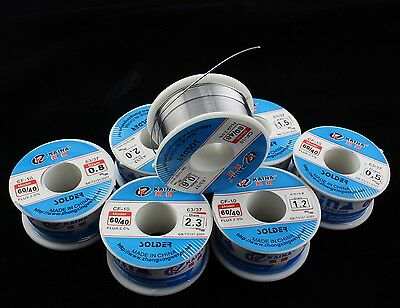 Quality 60/40  Tin/lead Rosin Core Solder Wire 0.5-2mm 2% Flux Reel/Tube 10-100G