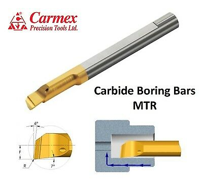 Carmex MTR Solid Carbide Boring Bar With Coolant Channel PICCO Tiny Tools
