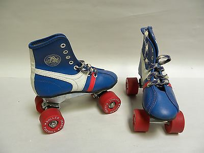 Vintage Retro Official Roller Derby Fireball Youth Roller Skates Size 12 (A5)