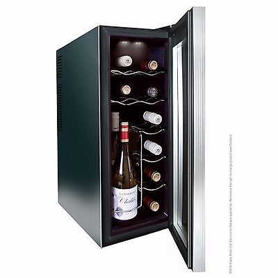 Husky HN6 Reflections Slim Line Wine Cooler, 12 Bottle Capacity