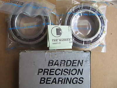 Barden 2110HDL Precision Bearings Matched Set NEW!!! in Box Free Shipping