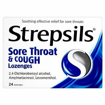 Strepsils Sore Throat And Cough Lozenges - 6 Pack