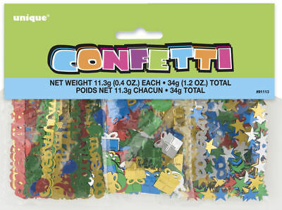 Congratulations Confetti - 3 Pack - 34g Table Party Birthday Foil Decoration