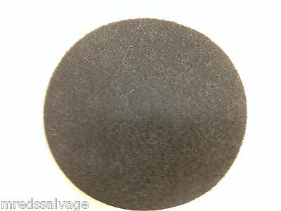 "MPC 20"" Black Strip Pad, Floor Maintenance Pads, Floor Stripping, Case of 5"