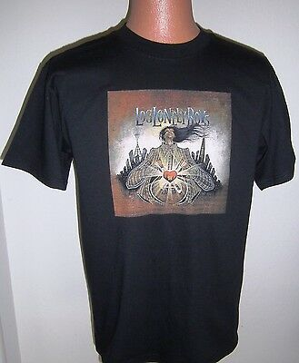 Los Lonely Boys-Official 2005 Concert Tour T Shirt-Brotherhood Tour-Black