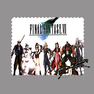 Final fantasy 7 personalised lens cloth glasses, mobile/laptop screen gift