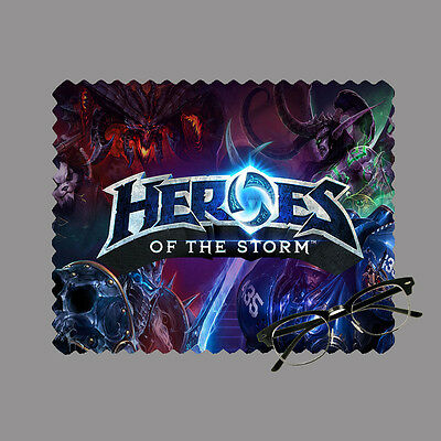 Heroes of the storm personalised lens cloth glasses, mobile/laptop screen gift