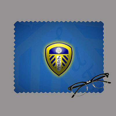 Leeds football club personalised lens cloth glasses, mobile/laptop screen gift