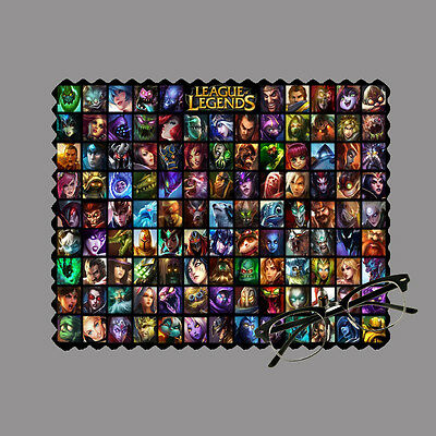Legue of legends personalised lens cloth glasses, mobile/laptop screen gift