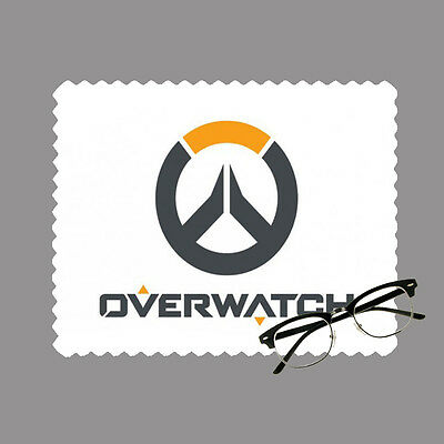 Overwatch gaming personalised lens cloth glasses, mobile/laptop screen gift