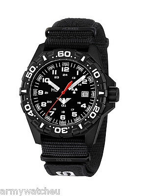 Men's Military Watch H3 Reaper XTAC Black, 12-hour Dial, Analog, KHS.BR.NXT7