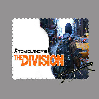The Division personalised lens cloth glasses, mobile/laptop screen gift