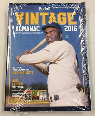 2016 Beckett Vintage Almanac Multisport Price Guide Magazine - QTY - Free Ship