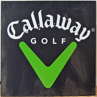 Callaway Golf Store Display Sign - Printed on both sides