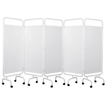 Viva Medi 5 Panel Medical Privacy Screen with PVC Panels