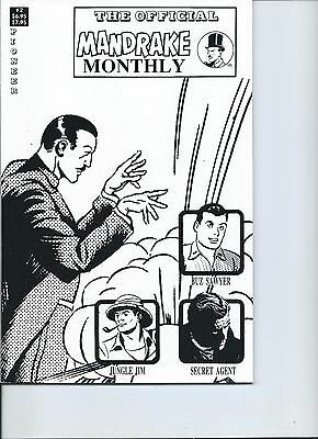 The Official Mandrake Monthly #2 by Lee Falk and Phil Davis  NM