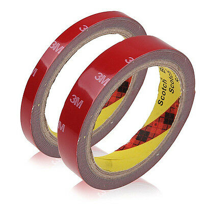Super Strong Double Sided Self Adhesive Foam Car AUTO Trim Body Tape 3M*6mm