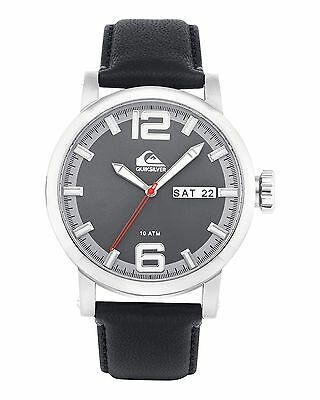 NEW QUIKSILVER™  The Sentinel Leather Strap Watch Wrist Watches