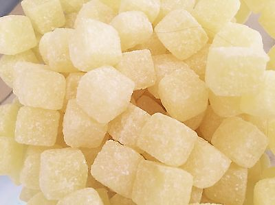 PINEAPPLE CUBES 400g, CLASSIC BRITISH HARD BOILED RETRO SWEETS, UK IMPORT