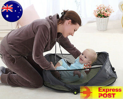 Jollybaby Baby Infant Portable Travel Bassinet Cot Bed
