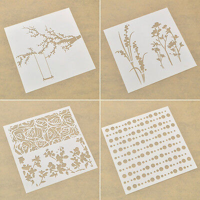 Drawing Stencils DIY Template Spray Paint Children Room Wall Decor DIY Craft