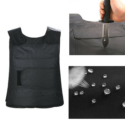 UK Anti-Stab Stabproof Stab-Resistant Tactical Body Armour Defense Protect Vest