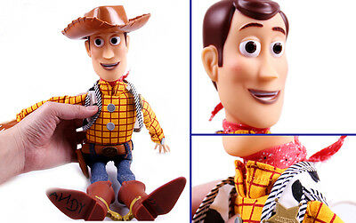 NEW Disney Toy Story Plush Toy WOODY Talking Stuffed Doll Figure 15""