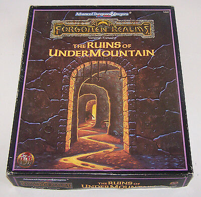 Ruins of Undermountain #1060 (AD&D 2nd Edition: Forgotten Realms Campaign Expans