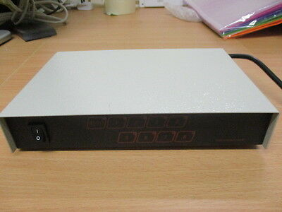 Cctv 8 Ch Av Receiver & Switcher- Auto And Manual