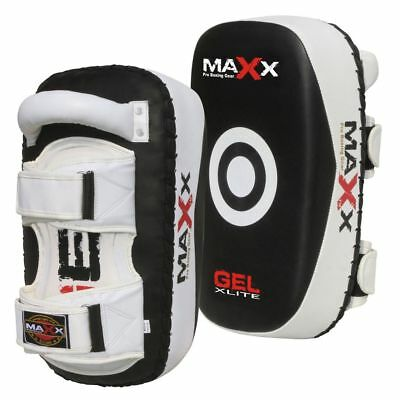 NEW Rex Leather 1PAIR Thai Kick Boxing Strike Arm Pad MMA Shield PunchBag FT