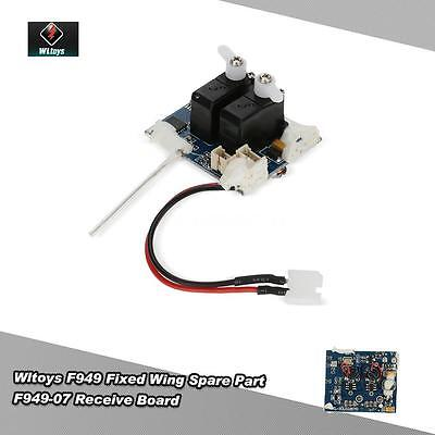 Genuine Wltoys Spare Part F949-07 Receive Board for Wltoys F949 RC Airplane J6N4