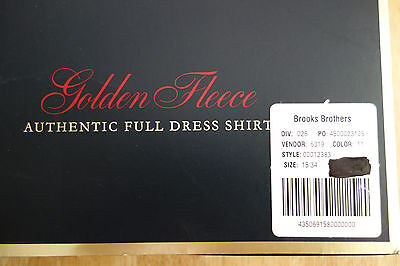 Brooks Brothers Golden Fleece Authentic Full Dress Formal Shirt---Retail $225