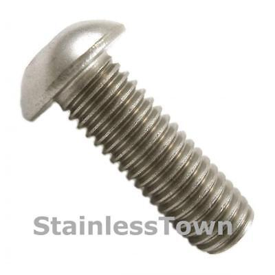 18-8 Stainless Steel Button Head Bolts 1/4-20 x 5/8 (8 Pack)