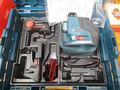 Bosch Tools 3 Plane Leveling Alignment Laser GLL3-80 bm 1,+others mint condition