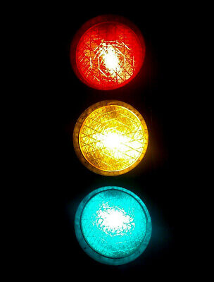USSR traffic light vintage