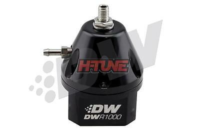 DeatschWerks DWR1000 Adjustable Fuel Pressure Regulator (Black)